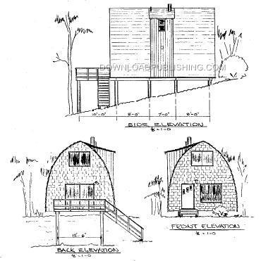 Arch Rafter House Plans on beach house plans designs